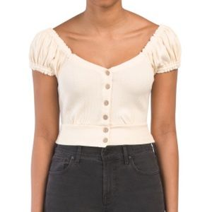 Free People Tops - Free people button front top
